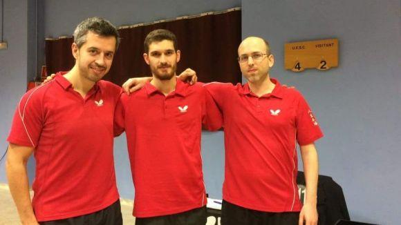 José Martín, nova incorporació de la UESC de tennis taula en el retorn a Primera Nacional