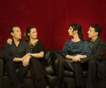 Verdú i Sánchez-Gijón comparteixen escenari avui al Teatre-Auditori amb 'Un dios salvaje'