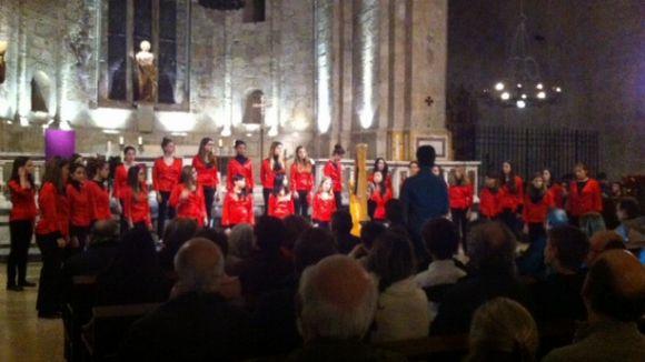 El concert 'Un Nadal Anglès' canta a la solidaritat