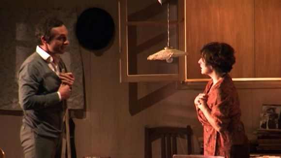 Clara Segura i Pablo Derqui batallen amb una relació improbable a 'Una giornata particolare'