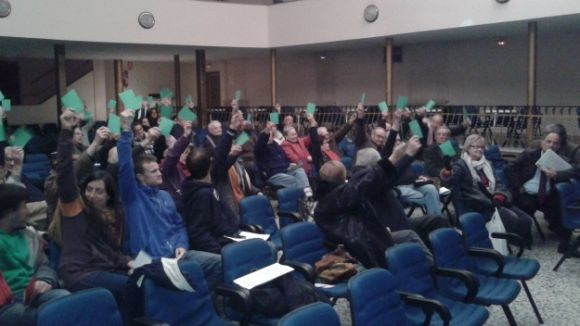 Els socis de La Unió, a favor del consorci amb l'Ajuntament per salvar l'entitat