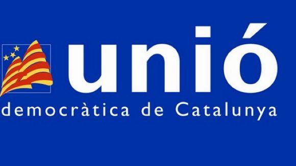 Membres locals d'UDC, en el manifest del sí o no a la independència el 14J