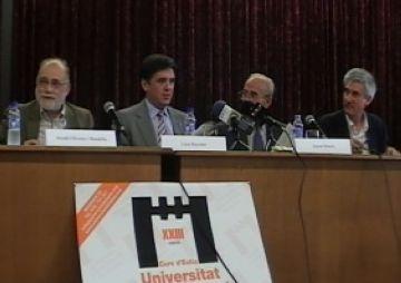 Arcadi Oliveras valora molt positivament la 23a edició del Curs d'Estiu de la Unipau