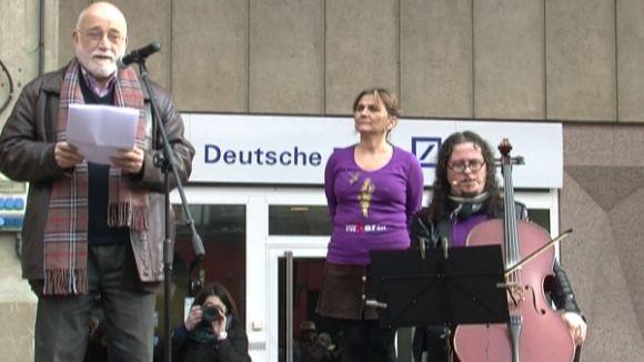 La Unipau reivindica la no violència a través de la sufragista Carme Karr
