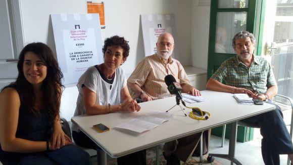 La Unipau signa el manifest 'Prou violència i prou ocupació a Gaza!'