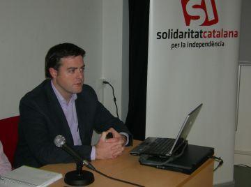 Uriel Bertran (SI): 'El pacte fiscal és impossible'