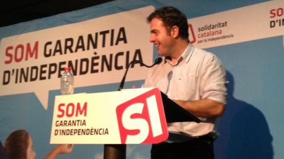 Uriel Bertan manté que sense independència no hi haurà suport internacional