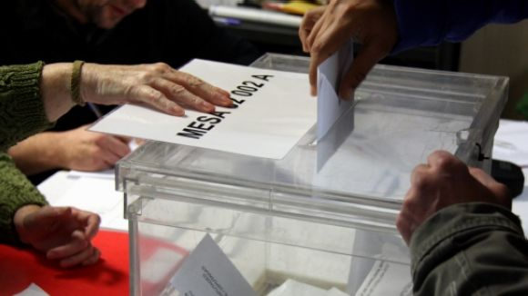 Més de 60.000 santcugatencs estan cridats a les urnes aquest diumenge