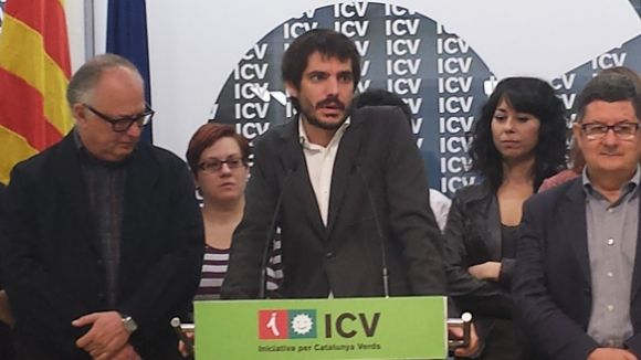 Calderon dóna suport a Ernest Urtasun com candidat d'ICV a les europees