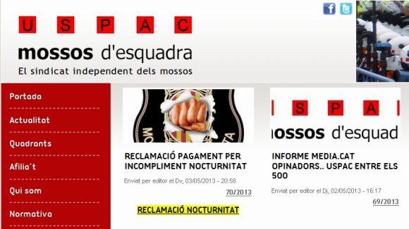 Un sindicat de Mossos carrega contra un regidor de la CUP per criticar la BRIMO