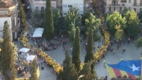 L'ANC continua avui la campanya informativa al carrer sobre la V catalana