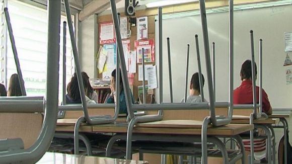 Seguiment majoritari de la vaga a l'escola pública