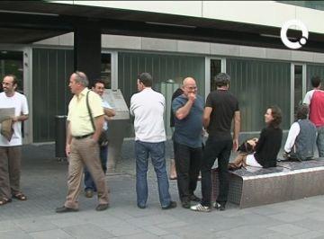 Baix impacte a la ciutat de la vaga del sector públic
