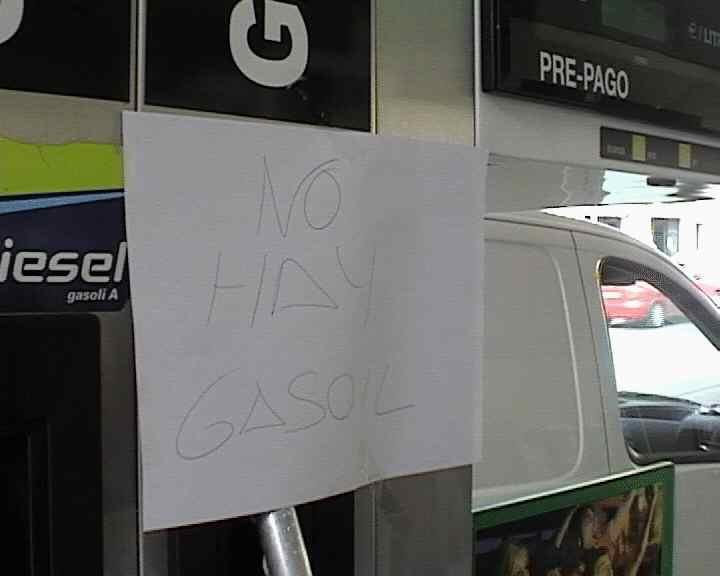 Sant Cugat ja pateix els efectes de la vaga de transportistes