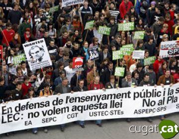 Els sindicats educatius convoquen una nova vaga pel 10 de juny