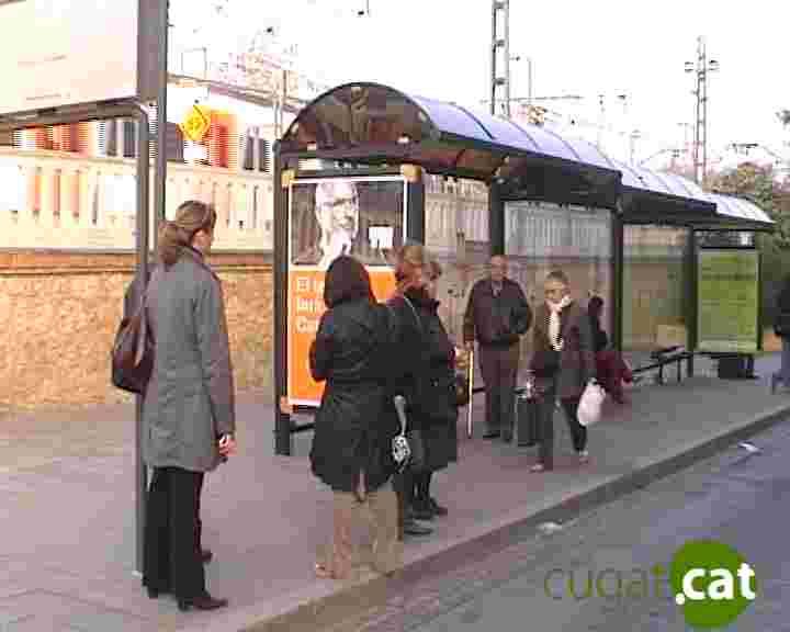 Canvis a les línies de bus per les obres de la nova rotonda al carrer Rovellat
