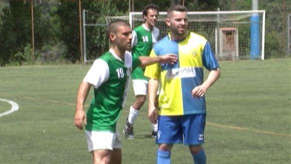 Imatge del partit entre el Valldoreix i el Sabadell Nord