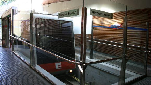 FGC millora els horaris d'enllaç del Funicular de Vallvidrera en cap de setmana