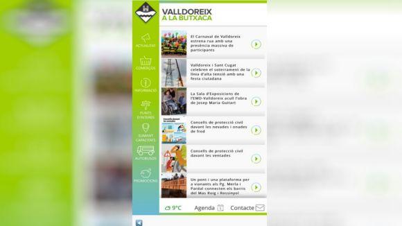 Ja està disponible Valldoreix a la Butxaca, la primera 'app' al país d'una EMD