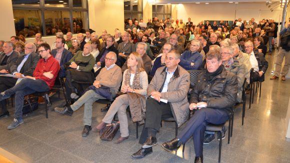 La reunió va tenir lloc aquest dijous a l'EMD / Foto: Premsa Valldoreix