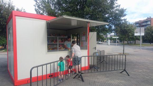 Ja estan oberts a Sant Cugat els punts de venda de petards per a les revetlles