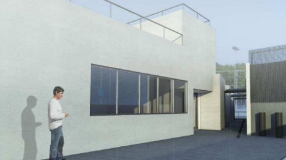 Les obres del nou edifici polivalent de la ZEM Jaume Tubau s'iniciaran el 13 d'agost