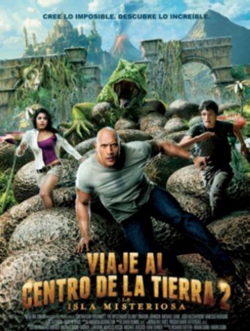 La segona entrega de 'Viaje al centro de la tierra' encapçala les estrenes dels cinemes locals