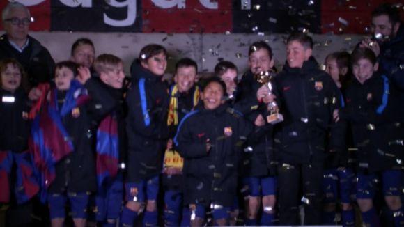 El Barça és el gran dominador de la 5a edició del Torneig Vicente Ferrer amb dos títols