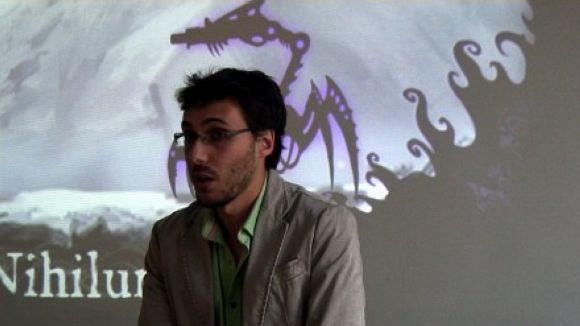 Kevin Cerdà presenta el seu videojoc i reclama als creadors un estil propi