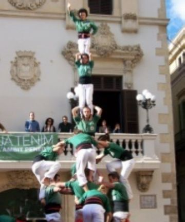 Els Gausacs han tornat a apostar pels castells de 7 fora de casa