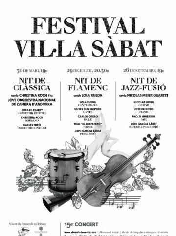 El flamenc arriba aquesta nit al Festival de Música Vil·la Sàbat