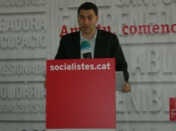 Villaseñor (PSC): 'És el moment d'estar units per defensar la immersió lingüística'