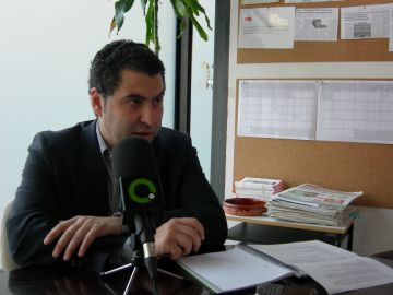 El primer secratari del PSC, Ferran Villaseñor
