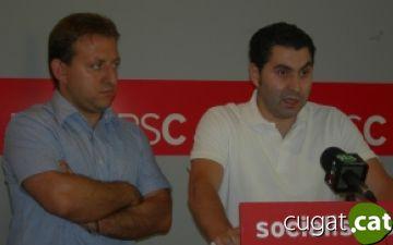 El PSC, content amb l'acord de govern de Valldoreix