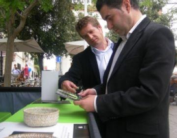 Villaseñor amb Pere Soler al Sant Cugat Actiu