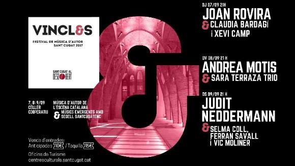 Festival Vincles: Joan Rovira i Clàudia Bardagí & Xevi Camp, en concert