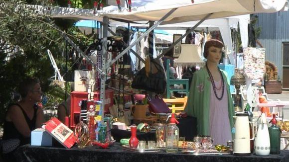 El Vintage Market del Mercantic només se celebrarà el primer diumenge de mes