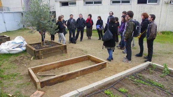 Tècnics d'altres ajuntaments s'interessen pel programa d'agroecologia escolar de Sant Cugat