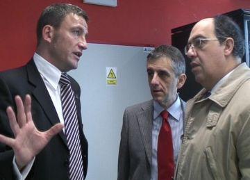 Una delegació tècnica de l'Ajuntament d'Alba visita Sant Cugat