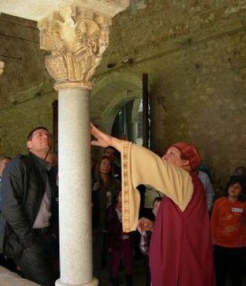 El Museu de Sant Cugat enceta l'any amb una visita teatralitzada al Monestir
