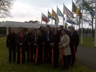 Sant Cugat visita el Centre d'Alt Rendiment esportiu de la ciutat holandesa de Papendal