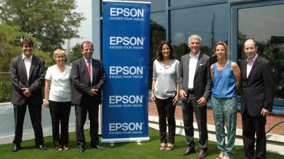 L'Ajuntament s'interessa per la innovació d'Epson