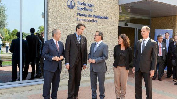 Boehringer Ingelheim inaugura amb Mas un centre de tecnologies de la informació