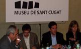 L'alcalde Recoder va fer una visita la Museu i desprès va oferir una roda de premsa