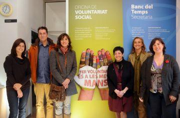 Caldes de Montbui s'interessa per l'Oficina del Voluntariat Social de Sant Cugat