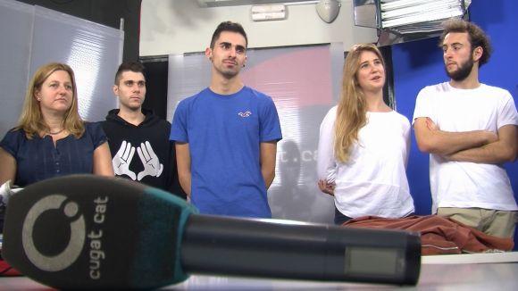 Cugat.cat obre les portes als alumnes del grau en Producció Audiovisual del Col·legi Sant Ignasi