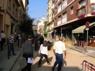 Les actuacions s'han fet tant al nucli urbà com als districtes