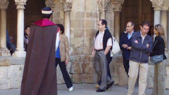 La visita teatralitzada al Monestir, un clàssic per als visitants i actors