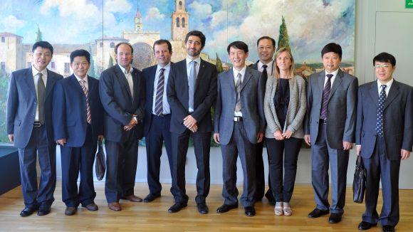 Una delegació xinesa visita Sant Cugat