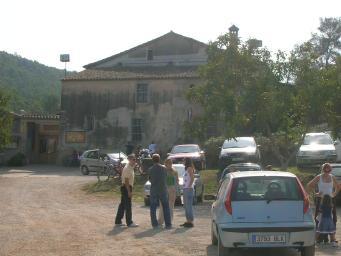 Comencen les obres de construcció de la passera del Forat d'en Bocàs al camí de Can Borrell